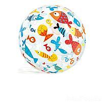 Надувной мяч Intex 59050 Рыбки, 61 см