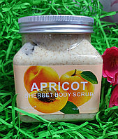 Скраб для тела SHERBET BODY SCRUB APRICOT 350 ml., фото 1