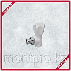 Кран радиаторный угловой