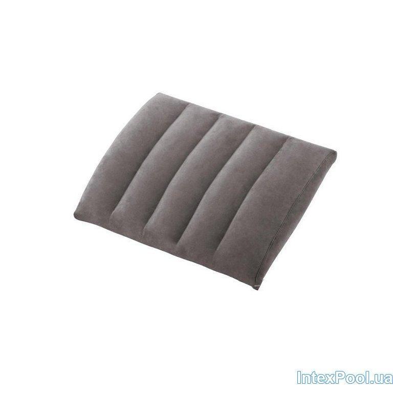 Надувная флокированная подушка Intex 68679