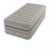 Надувная кровать Intex 64444, 99 х 191 х 51 , встроенный электронасос. Односпальная