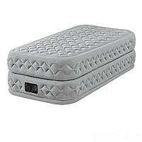 Надувная кровать Intex 64488, 99 х 191 х 51, со встроенным электрическим насосом. Односпальная