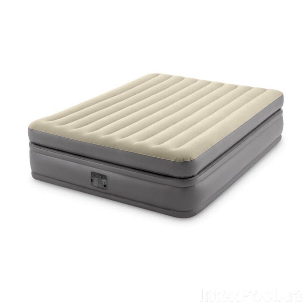 Надувная кровать Intex 64164, 152 х 203 х 51, со встроенным электрическим насосом. Двухспальная