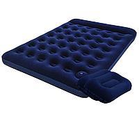 Надувной матрас Pavillo Bestway 67226-1, 152 х 203 х 22 см, с ножным насосом, подушками. Двухместный