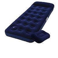 Надувной матрас Pavillo Bestway 67223-1, 76 х 185 х 22 см, с ножным насосом, подушкой. Одноместный