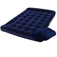 Надувной матрас Pavillo Bestway 67225-1, 137 х 191 х 22 см, со ножним насосом, подушками. Полуторный