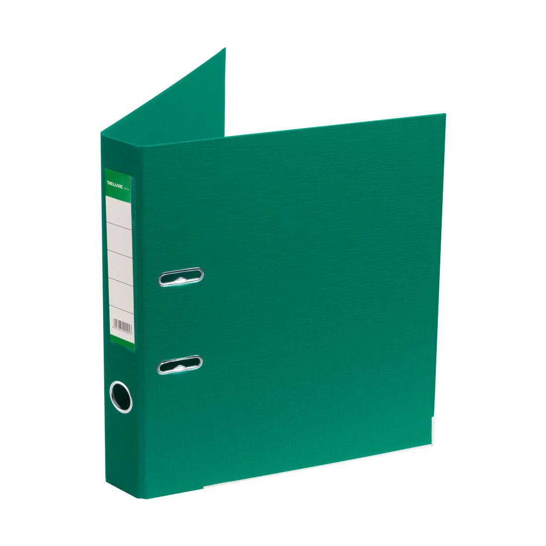 """Папка–регистратор с арочным механизмом Deluxe Office 2-GN36 (2"""" GREEN)"""