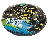 Одноместный надувной сани - тюбинг для катания Bestway 39004, 99 см, черный