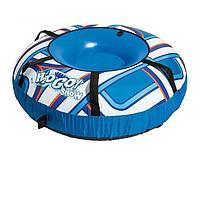 Одноместный надувной сани - тюбинг для катания Bestway 39055, 127 см, синий