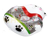 Одноместный надувной сани - тюбинг для катания Bestway 39063 Мишка, 120 х 121 см