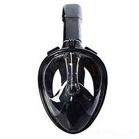 Маска для плавания Bambi 1639, L (14+) 59 см, черная