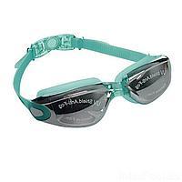 Набор 2 в 1 для плавания Bambi D25636 (очки: размер M, (6+), обхват головы ≈ 52 см, беруши), зеленый