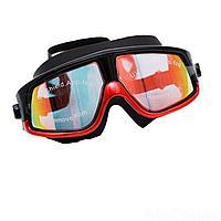 Очки для плавания Bambi D25725, размер M, (6+), обхват головы ≈ 52 см, красные