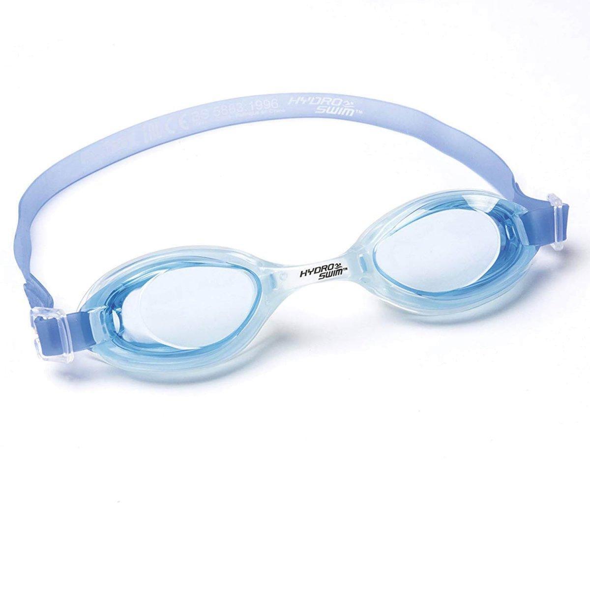 Детские очки для плавания Bestway 21045, размер S, (3+), обхват головы ≈ 50 см, синий