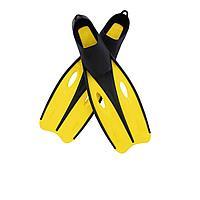 Ласты для плавания Bestway 27022, размер M, 37 (EU), под стопу ≈ 24 см, желтые