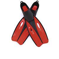 Ласты для плавания Bestway 27022, размер M, 37 (EU), под стопу ≈ 24 см, красные, фото 1