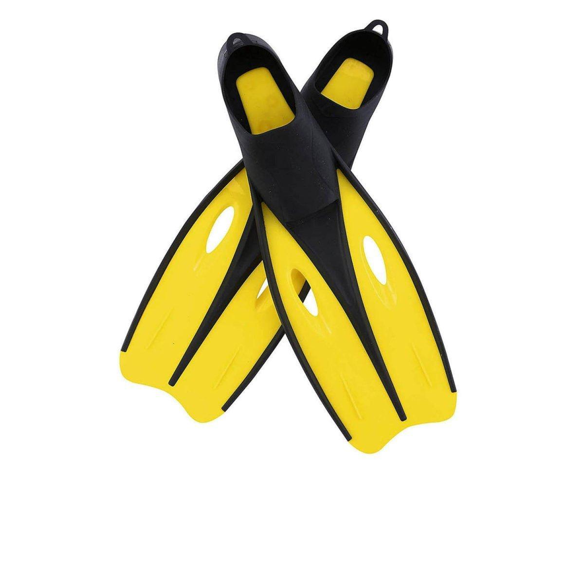 Ласты для плавания Bestway 27025, размер S, 35 (EU), под стопу ≈ 22 см, желтые