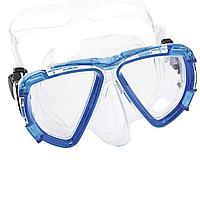 Маска для плавания Bestway 22052, размер XL, (10+), обхват головы ≈ 56 см, синяя, фото 1