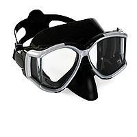 Маска для плавания Bestway 22060, размер XL, (10+), обхват голов ≈ 56 см, черная, фото 1