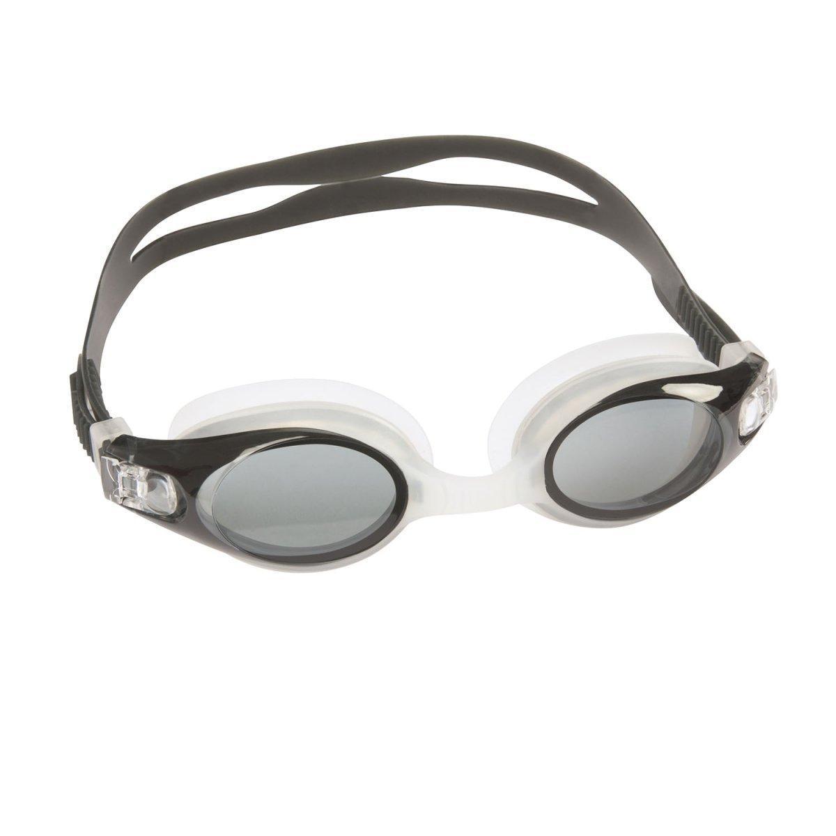 Очки для плавания Bestway 21055, размер XL, (10+), обхват головы ≈ 56 см, черные