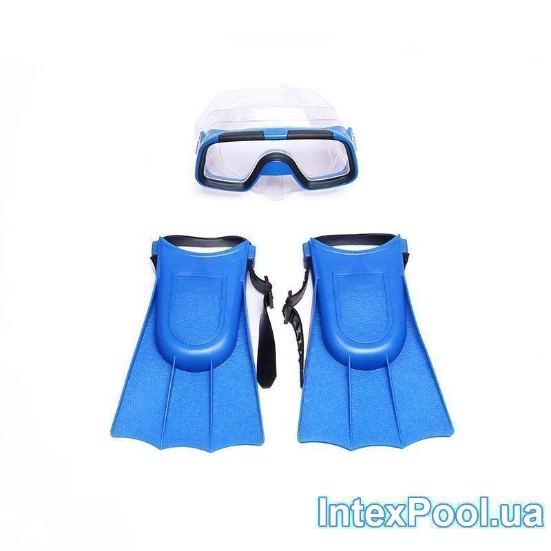 Набор для плавания Bambi M 0755 (ласты: EUR (37-41), 23-26 см, очки)