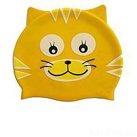 Шапочка для плавания IntexPool MSW018, универсальная, обхват головы ≈ 50 см, (21 х 18 см), желтая