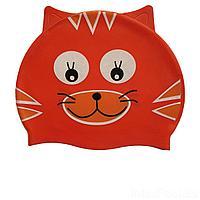 Шапочка для плавания IntexPool MSW018, универсальная, обхват головы ≈ 50 см, (21 х 18 см), красная
