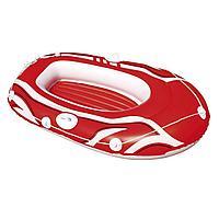 Одноместная надувная лодка Bestway 61050 Hydro - Force, красная, 145 х 87 см