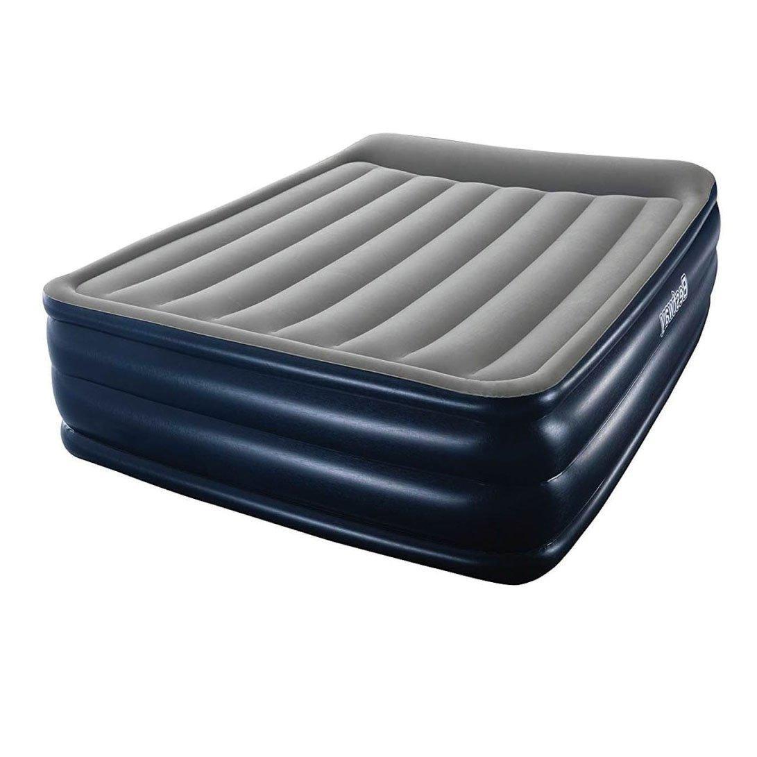 Надувная кровать Bestway 67528, 152 х 203 х 56 , встроенный электронасос. Двухспальная