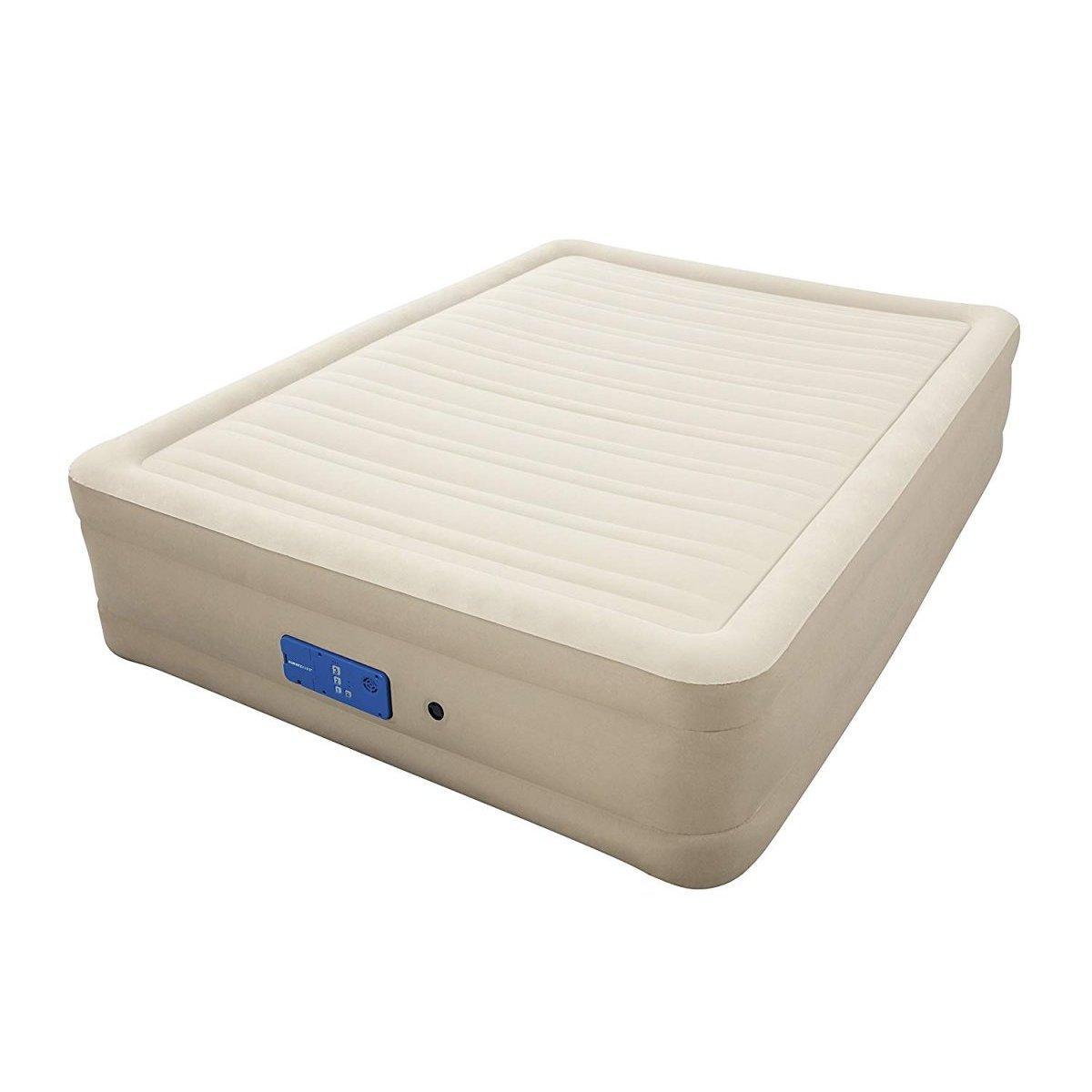 Надувная кровать Bestway 69032, 152 х 203 х 43 , встроенный электронасос Alwayzaire. Двухспальная