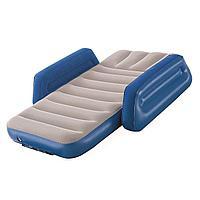 Детская надувная кровать Bestway 67602, 76 х 145 х 18 . Односпальная, синяя