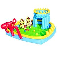Надувной игровой центр BestWay 52169 Осада Замка, 186 х 150 х 68 см, с шариками инадувными щитами