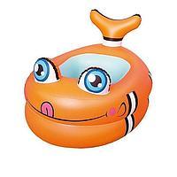 Архивный. Детский надувной бассейн Bestway 51125 Рыбка, оранжевый, 89 х 61 х 58 см