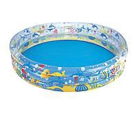 Детский надувной бассейн Bestway 51005 Подводный мир, 183 х 33 см