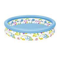 Детский надувной бассейн Bestway 51009, 122 х 25 см, фото 1