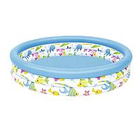 Детский надувной бассейн Bestway 51009, 122 х 25 см