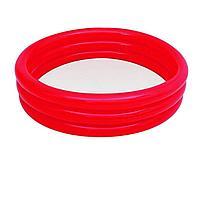 Детский надувной бассейн Bestway 51025, красный, 122 х 25 см