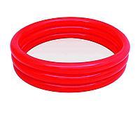 Детский надувной бассейн Bestway 51027, красный, 183 х 33 см