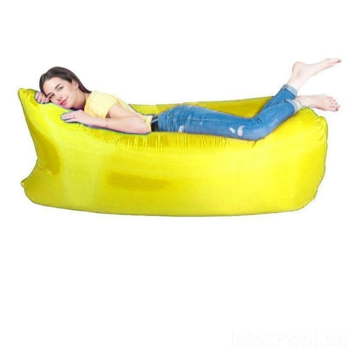 Ламзак, надувной мешок Lamzak 32001, желтый