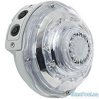 Подсветка для джакузи Intex 28504 гидроэлектрическая, настенная лампа. Работает от фильтр-насоса