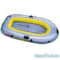Полутораместная надувная лодка Intex 58346 Pacesetter 200, 196 х 102 х 33 см
