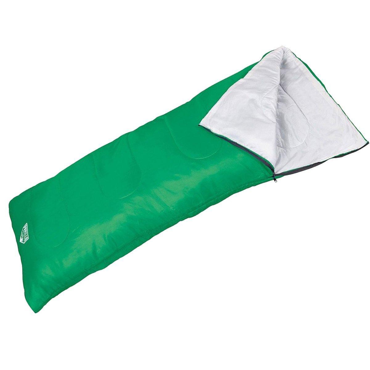 Спальный мешок Pavillo Bestway 68053, 180 х 75 см, зеленый