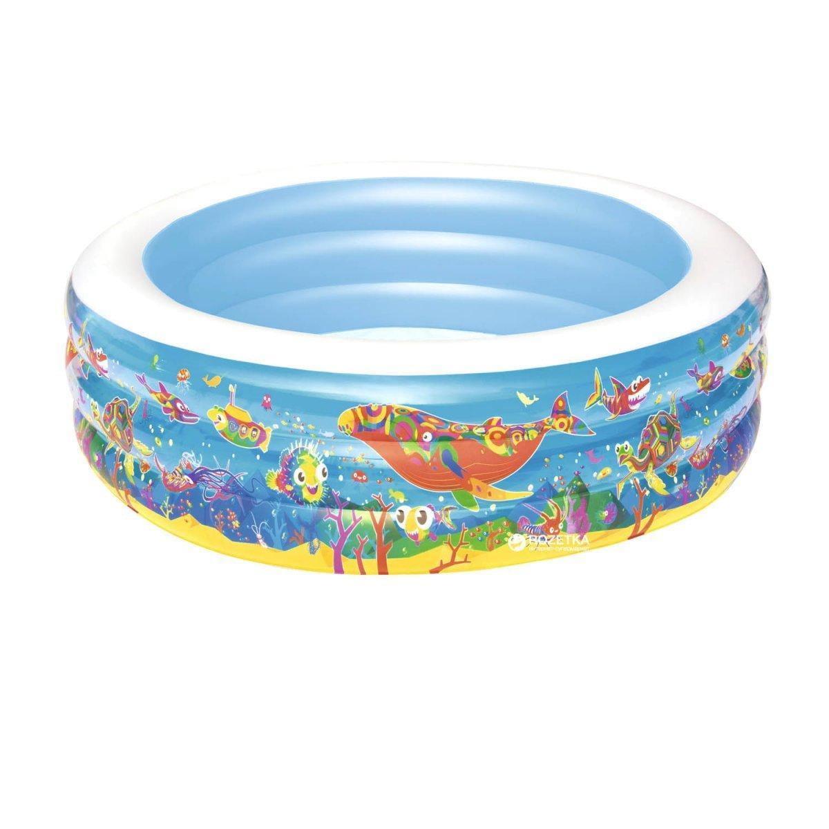 Детский надувной бассейн Bestway 51121 Аквариум, 152 х 51 см