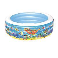 Детский надувной бассейн Bestway 51121 Аквариум, 152 х 51 см, фото 1