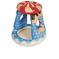Детский надувной бассейн Bestway 52270 Конфетка 91 х 91 х 89 см, с навесом