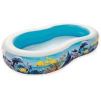 Детский надувной бассейн Bestway 54118, 262 х 157 х 46 см