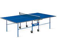 Теннисный стол Olympic с сеткой - стол для настольного тенниса для частного использования со встроенной сеткой, фото 1