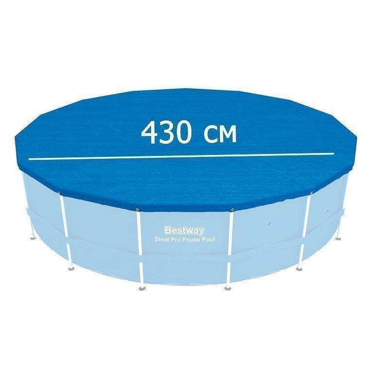 Тент для бассейна Bestway 58248 box, каркасный 427 см