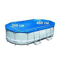 Тент для бассейна Bestway 58290 box, каркасный 488 х 305 см