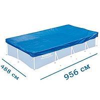 Тент для бассейна Bestway 58305 box, какаркасный 956 х 488 см